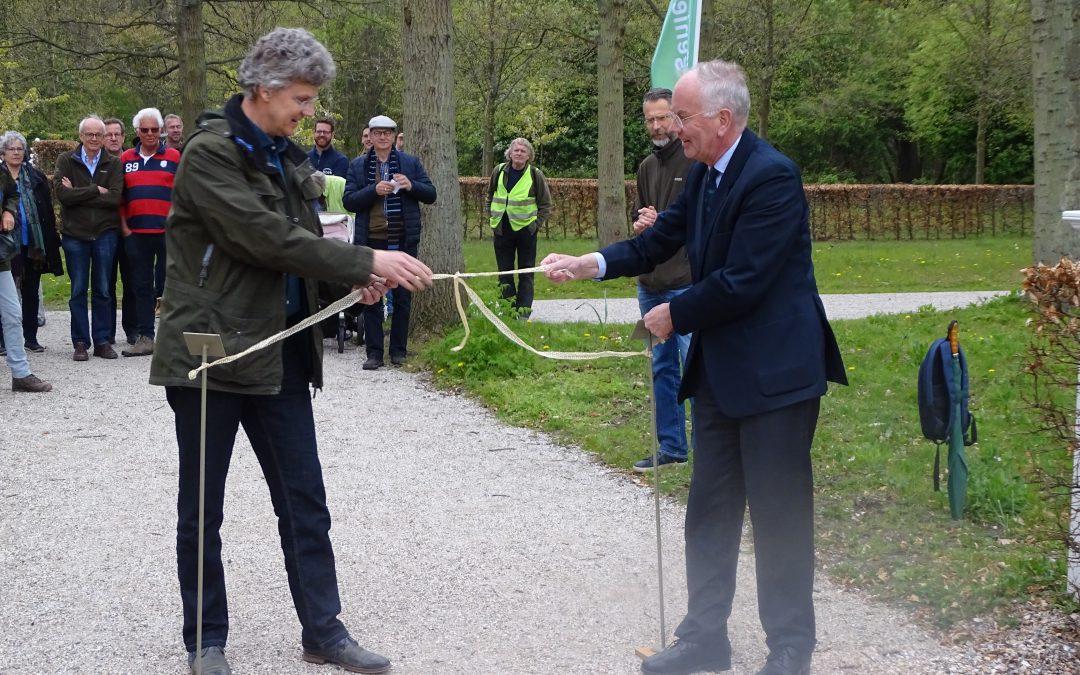 Vernieuwde bloemenwaaier in Beeckestijn geopend
